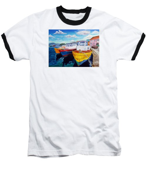 Carenage Scene 1 Baseball T-Shirt