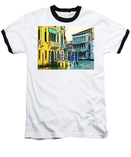 Baseball T-Shirt featuring the photograph Ca'rezzonico Museum by Tom Cameron
