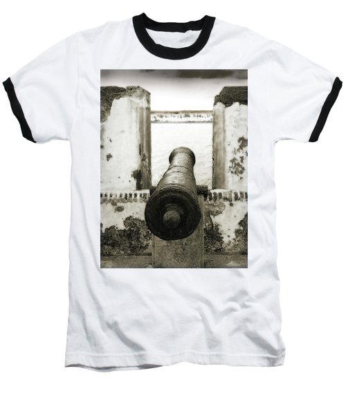 Caribbean Cannon Baseball T-Shirt