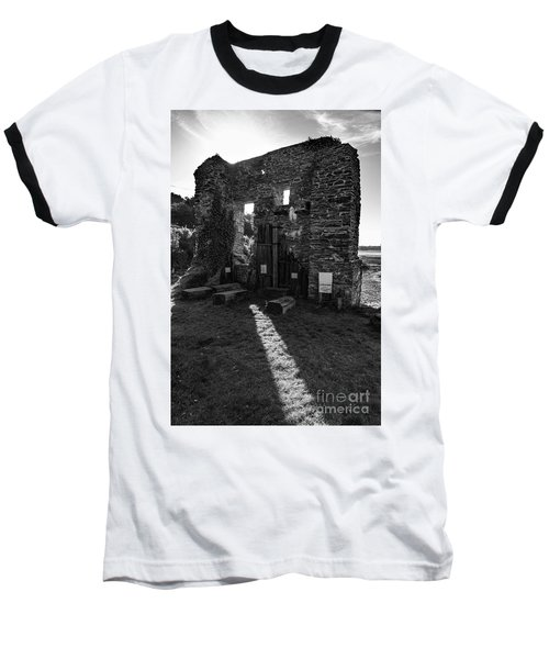 Baseball T-Shirt featuring the photograph Photographs Of Cornwall Carnon Mine by Brian Roscorla