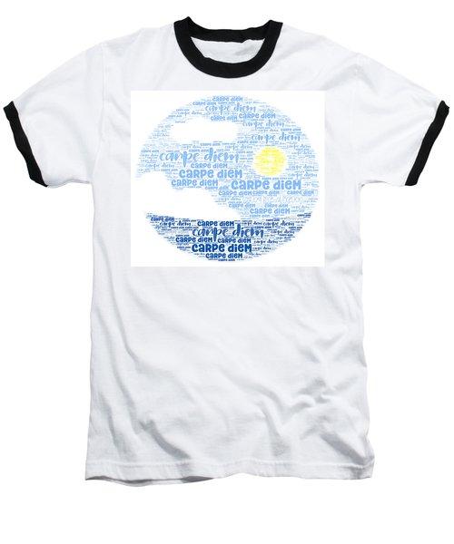Carpe Aestatem Baseball T-Shirt
