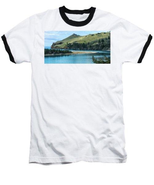 Cascade Head Panorama Baseball T-Shirt