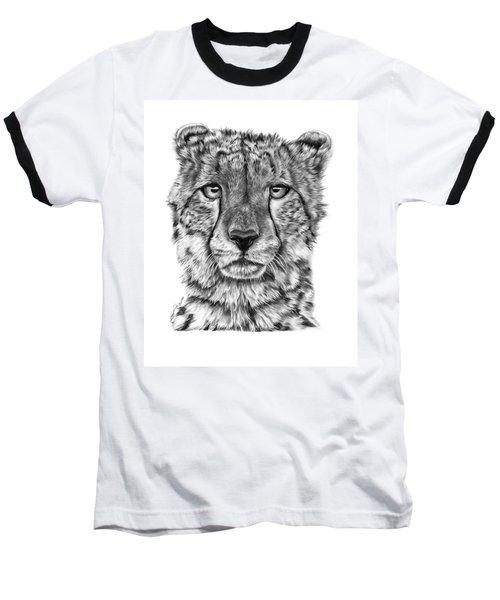 Cassandra The Cheetah Baseball T-Shirt