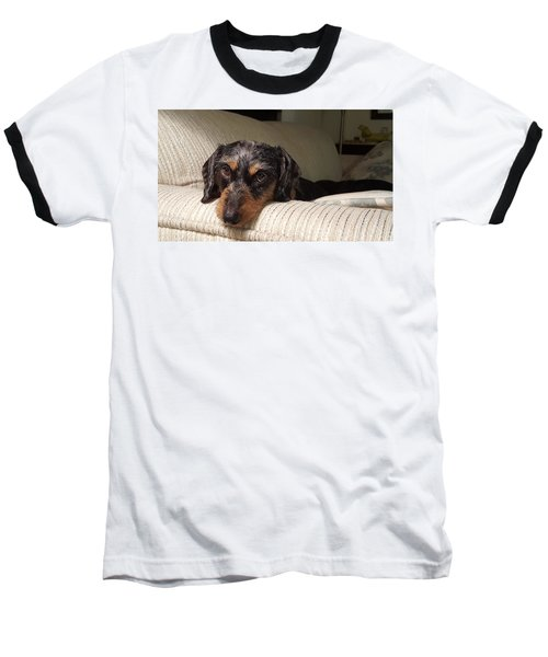 Cassie Baseball T-Shirt by Judy Wanamaker