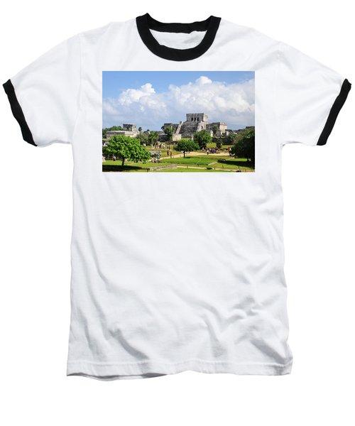 Castle In The Sky Baseball T-Shirt