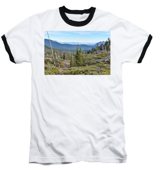 Castle Lake Trail Baseball T-Shirt