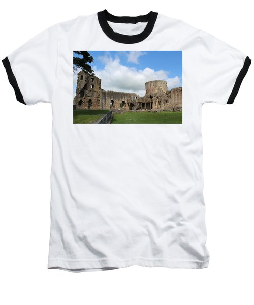Castle Ruins Baseball T-Shirt
