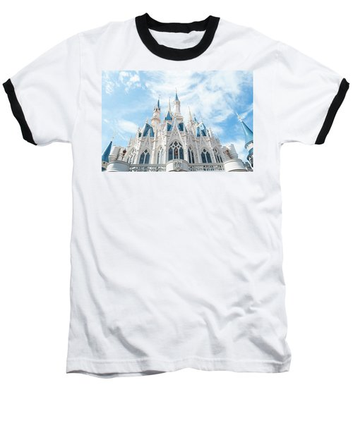 Castle Sky Baseball T-Shirt