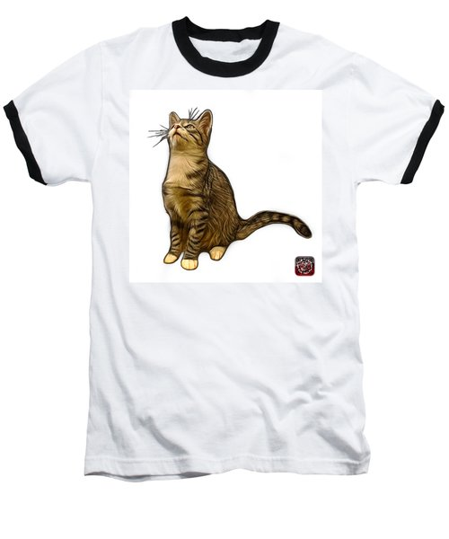 Cat Art - 3771 Wb Baseball T-Shirt by James Ahn