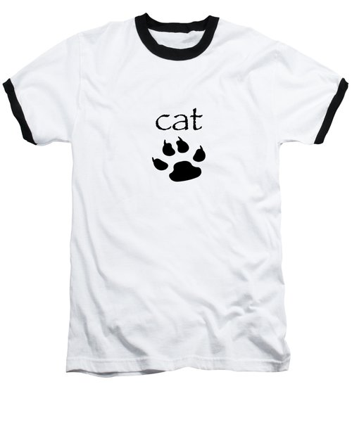 cat Baseball T-Shirt