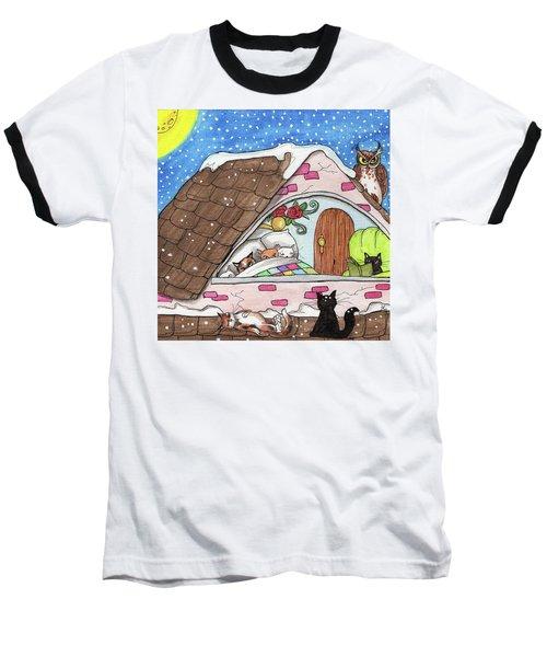 Cat Condo Baseball T-Shirt