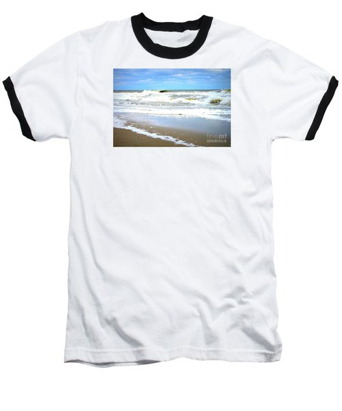 Baseball T-Shirt featuring the photograph Catch A Wave by Shelia Kempf
