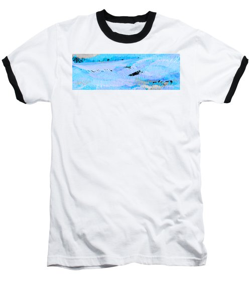 Catching Waves Baseball T-Shirt by Stephanie Grant