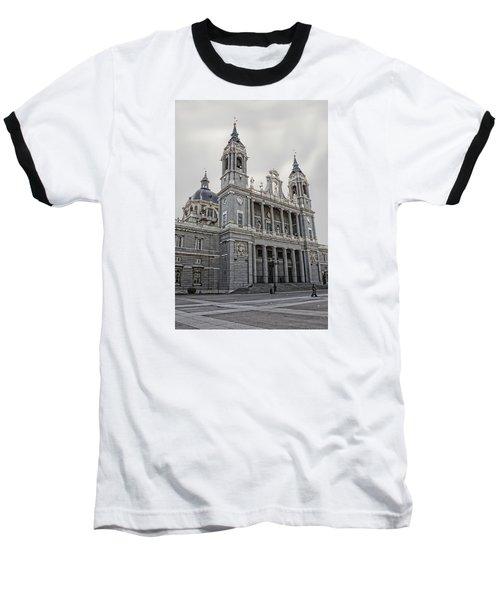 Baseball T-Shirt featuring the photograph Catedral De La Almudena by Angel Jesus De la Fuente