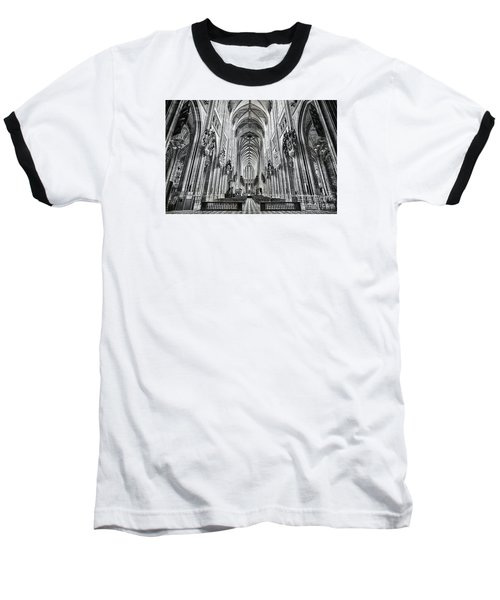 Baseball T-Shirt featuring the photograph Cathedral At Orleans France by Jack Torcello