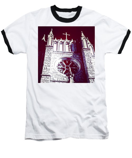 Cathedral In Archangel Glow Baseball T-Shirt