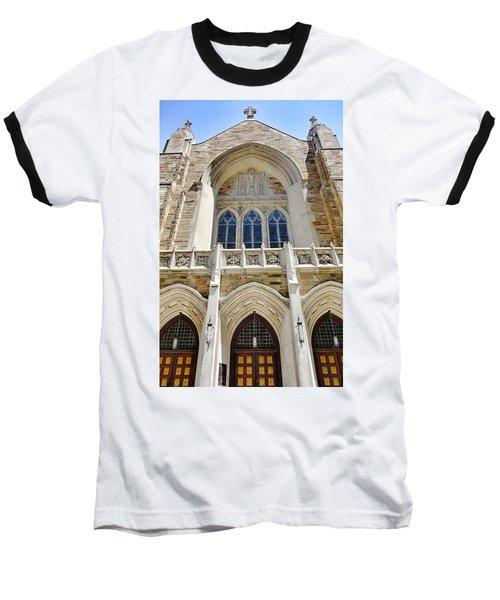Cathedral Of St John Front Baseball T-Shirt