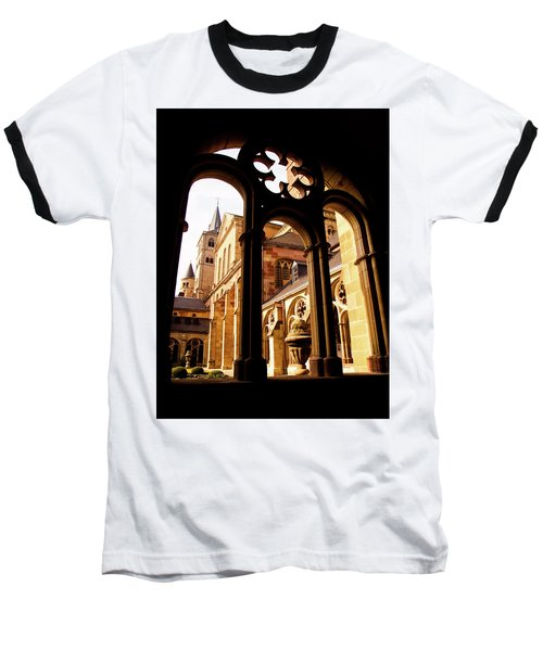 Cathedral Of Trier Window Baseball T-Shirt