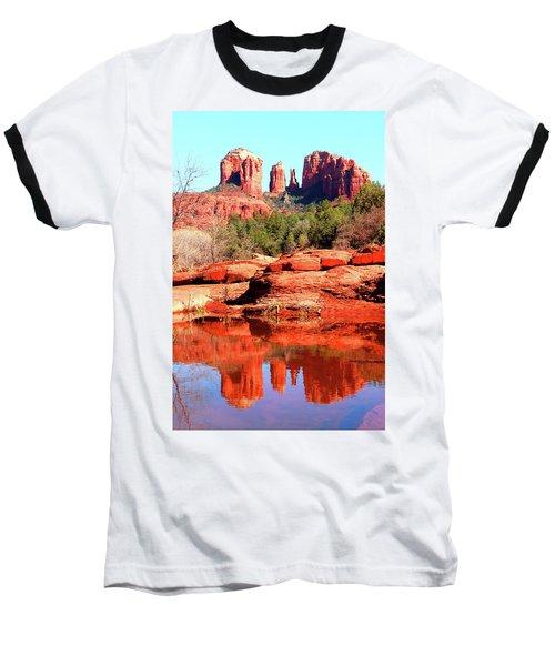 Cathedral Reflections 2 Baseball T-Shirt