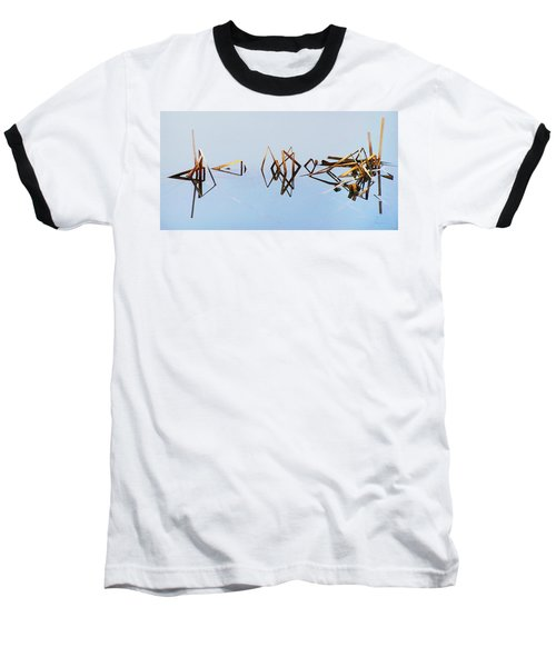 Cattail Reflections Baseball T-Shirt