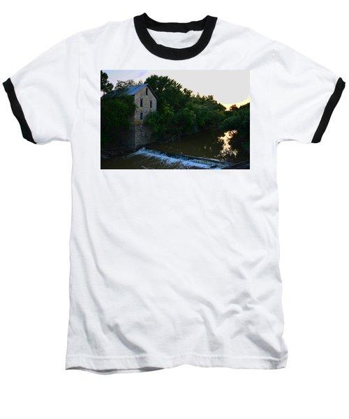 Cedar Point Mill Baseball T-Shirt by Keith Stokes