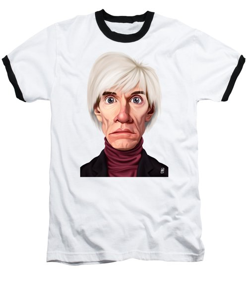 Celebrity Sunday - Andy Warhol Baseball T-Shirt