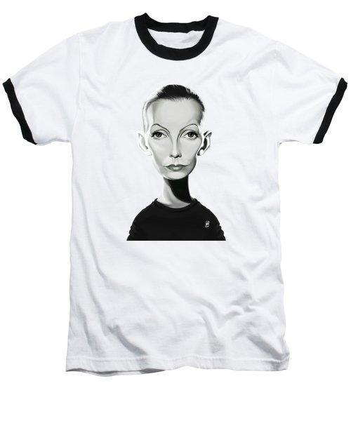 Celebrity Sunday - Greta Garbo Baseball T-Shirt