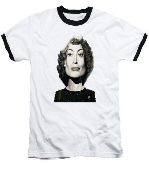 Celebrity Sunday - Joan Crawford Baseball T-Shirt