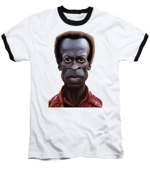 Celebrity Sunday - Miles Davies Baseball T-Shirt