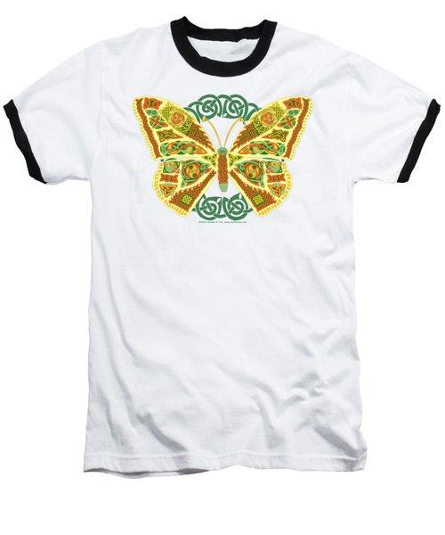 Celtic Butterfly Baseball T-Shirt