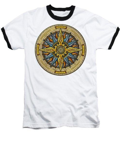 Celtic Compass Baseball T-Shirt