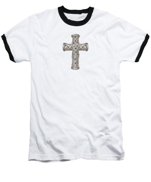 Celtic Cross B997 Baseball T-Shirt