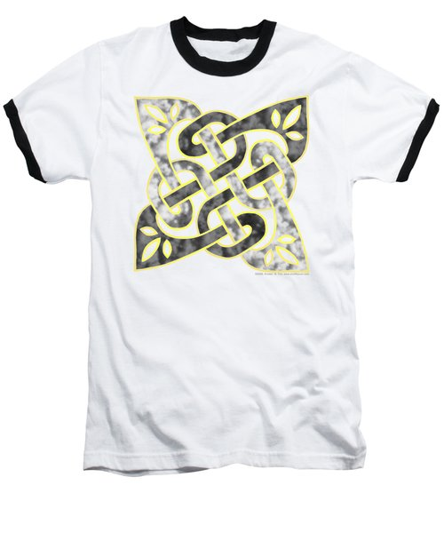 Celtic Dark Sigil Baseball T-Shirt by Kristen Fox