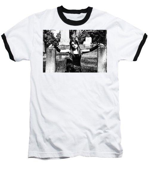 Cemetery Girl Baseball T-Shirt