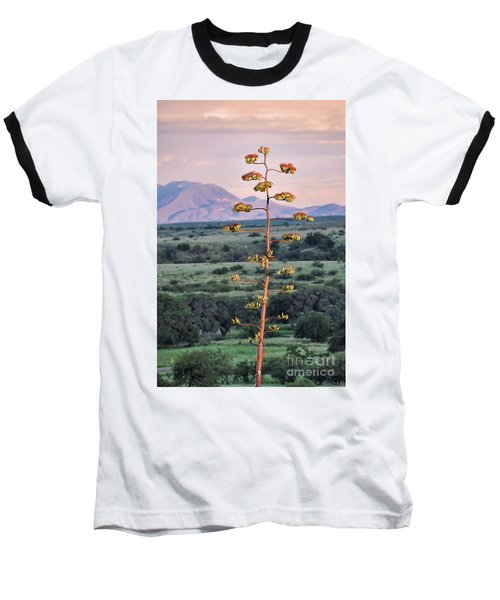 Baseball T-Shirt featuring the photograph Centuryplant by Gina Savage