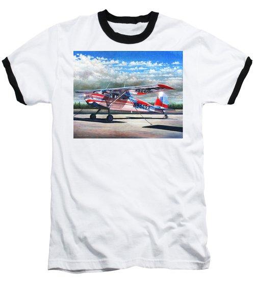Cessna 140 Baseball T-Shirt