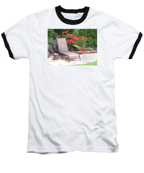 Chair Waiting Baseball T-Shirt