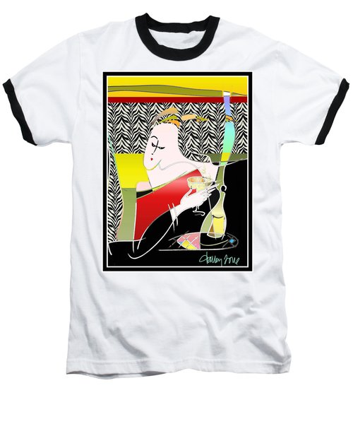 Champagne For One At The Zebra Lounge Baseball T-Shirt