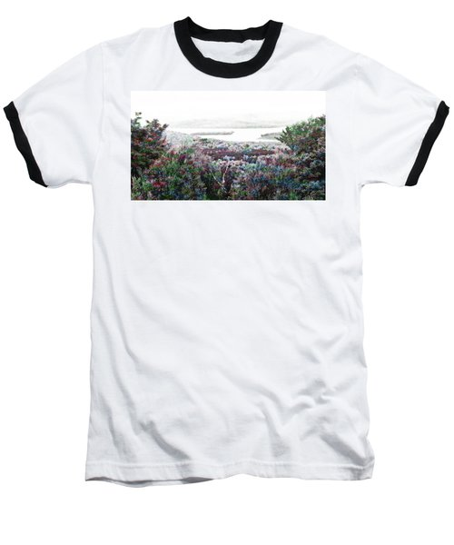 Baseball T-Shirt featuring the mixed media Change Of Seasons by Mike Breau
