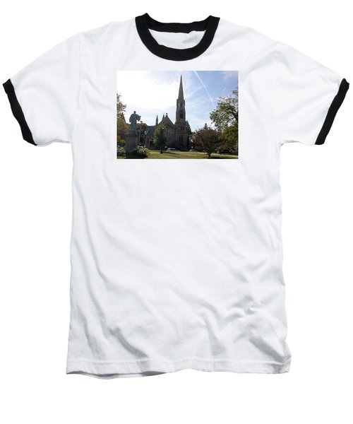 Channing Memorial Church Baseball T-Shirt