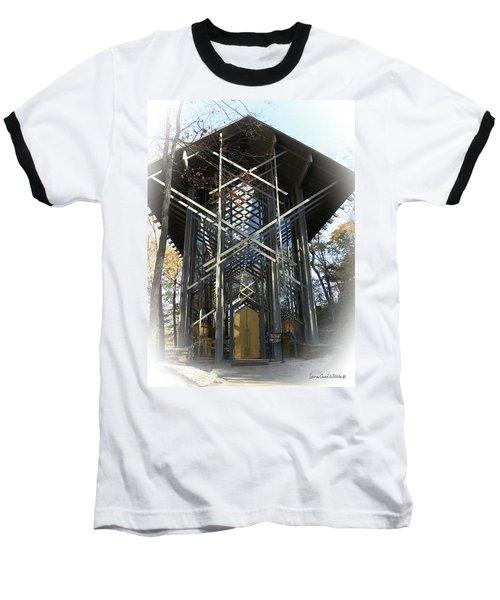Chapel In The Woods Baseball T-Shirt