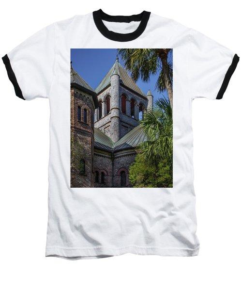 Baseball T-Shirt featuring the photograph Charleston Historic Church by James Woody