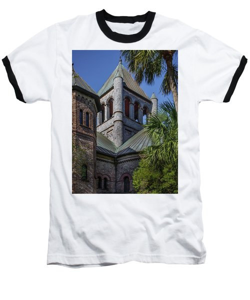 Charleston Historic Church Baseball T-Shirt