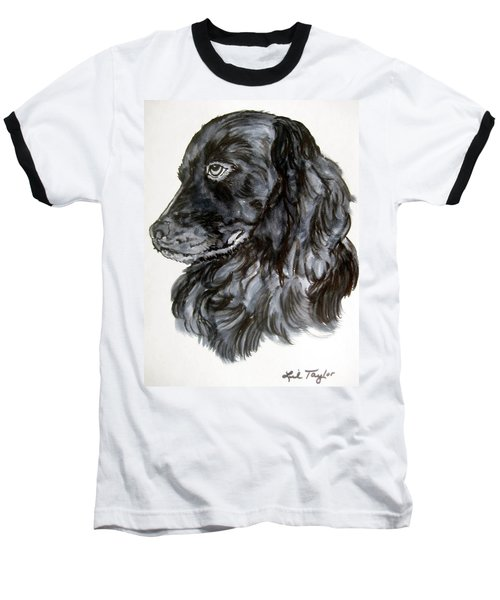 Charlie Baseball T-Shirt by Lil Taylor