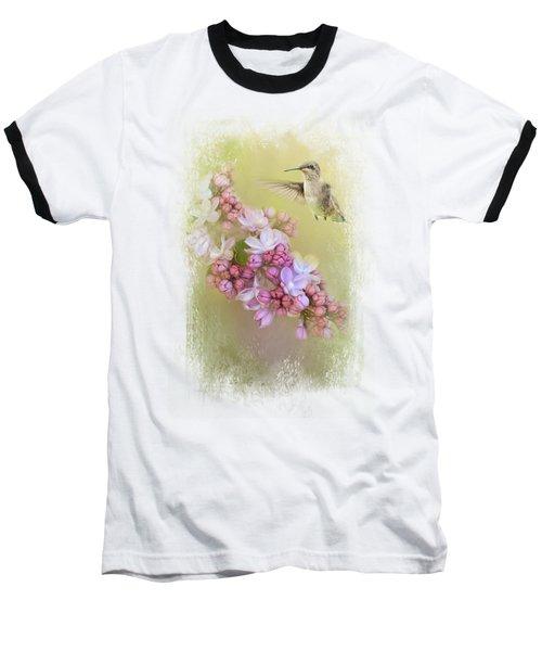 Chasing Lilacs Baseball T-Shirt