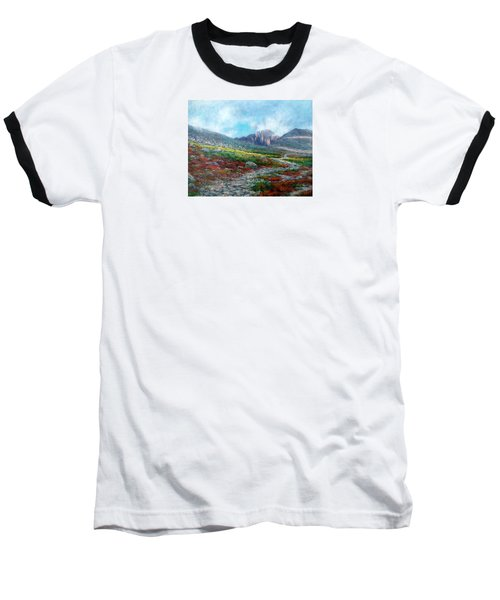 Chasm Lake Trail Baseball T-Shirt
