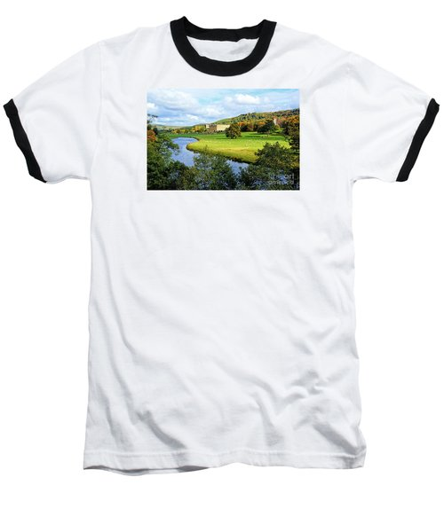 Chatsworth House View Baseball T-Shirt