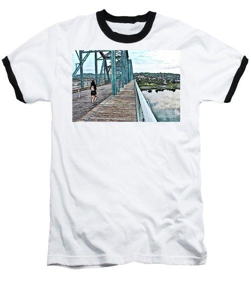 Chattanooga Footbridge Baseball T-Shirt