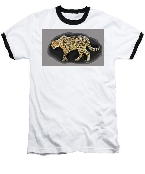 Cheetah 10 Baseball T-Shirt
