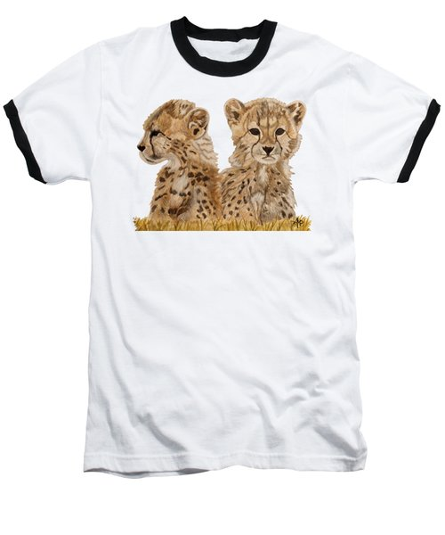 Cheetah Cubs Baseball T-Shirt